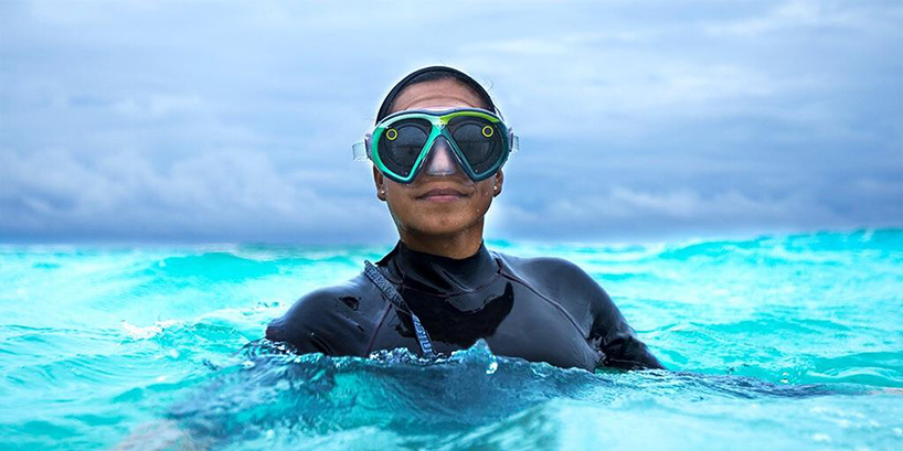 Waterproof Spectacles Will Let You Snap 150ft Underwater