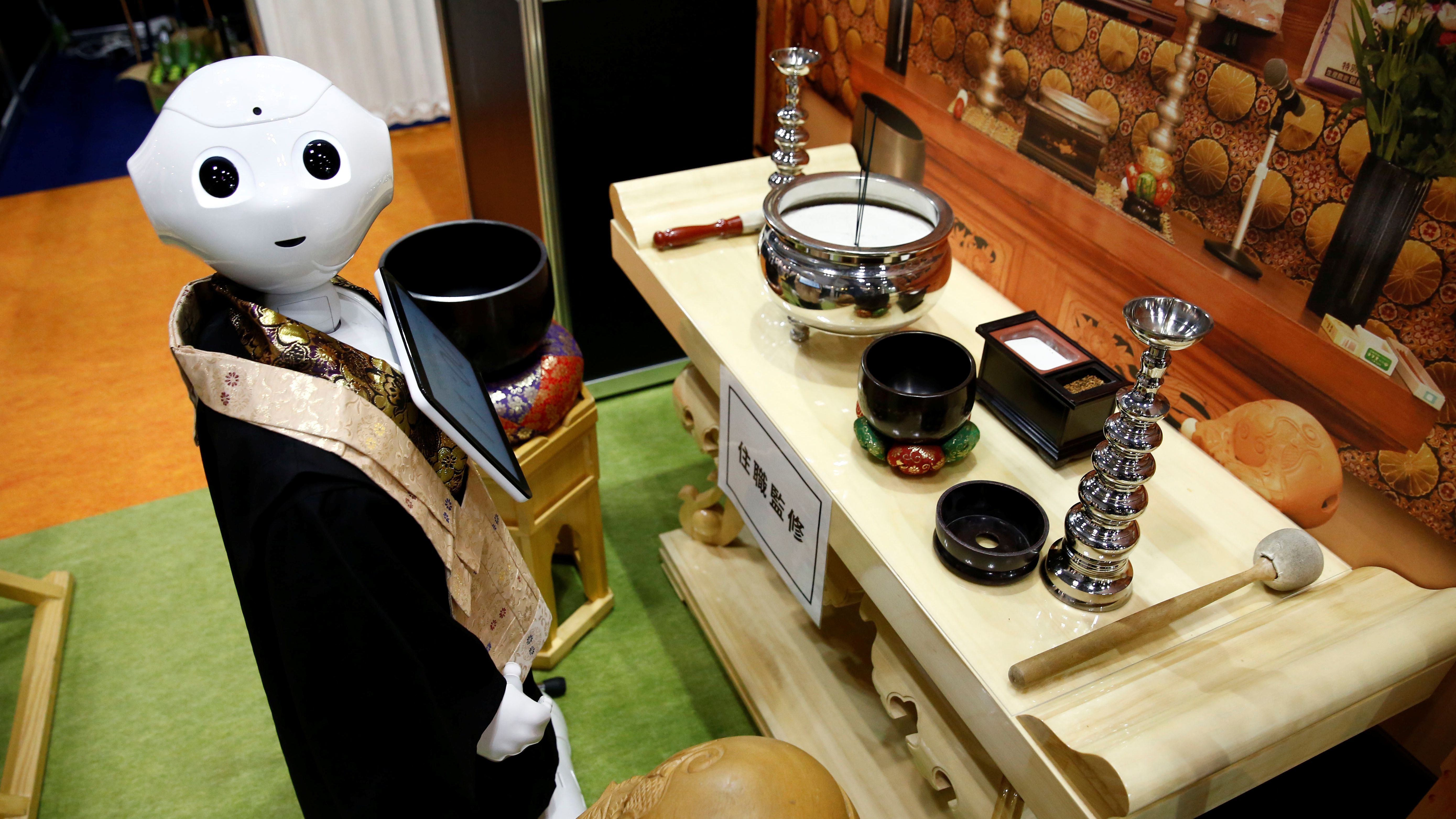 Are Robot Priests Really The Future Of Funerals?