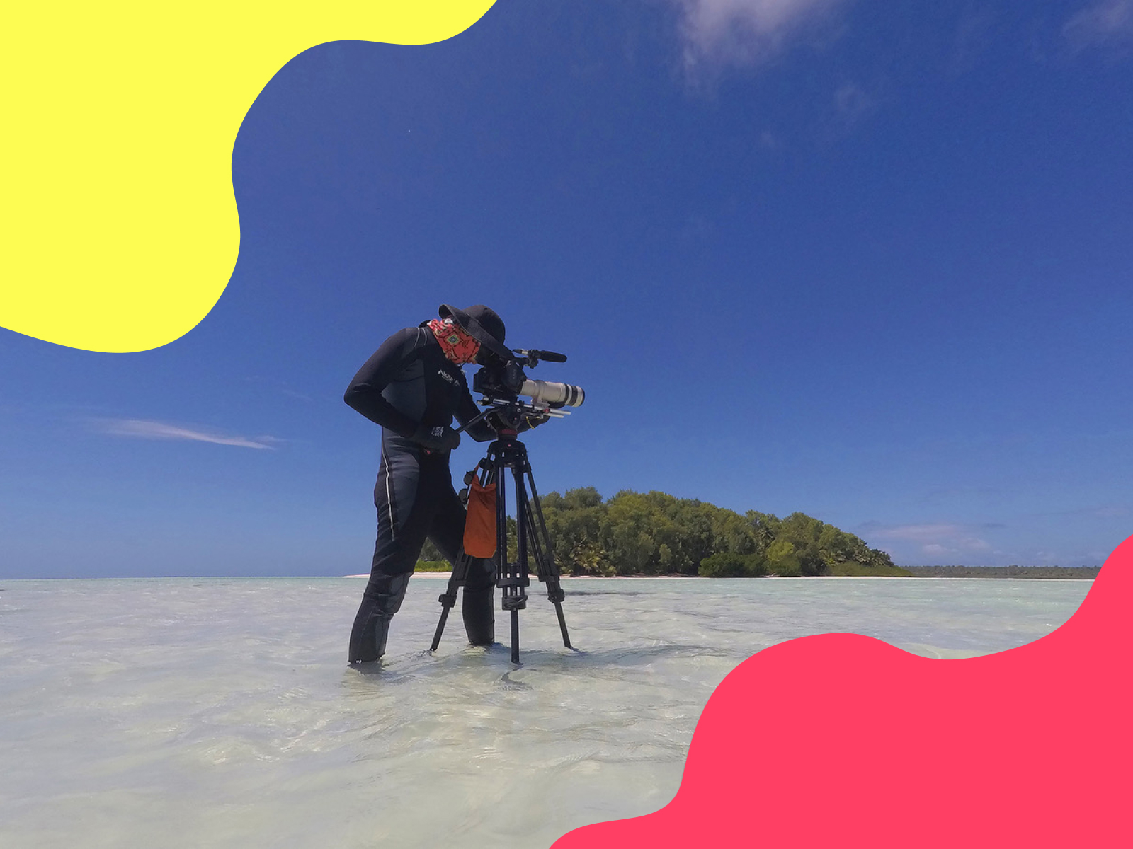 Meet Nick, the filmmaker calling for us to save our seas