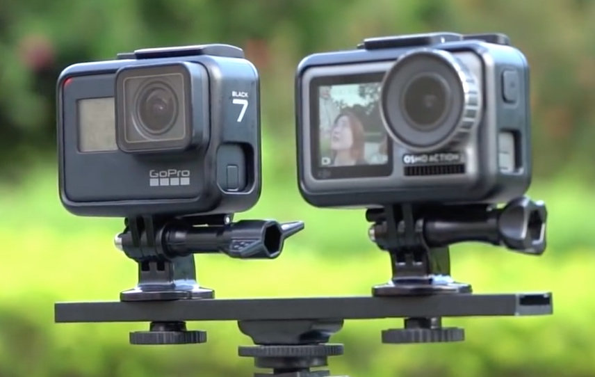 GoPro Hero 7 Black vs. DJI Osmo Action