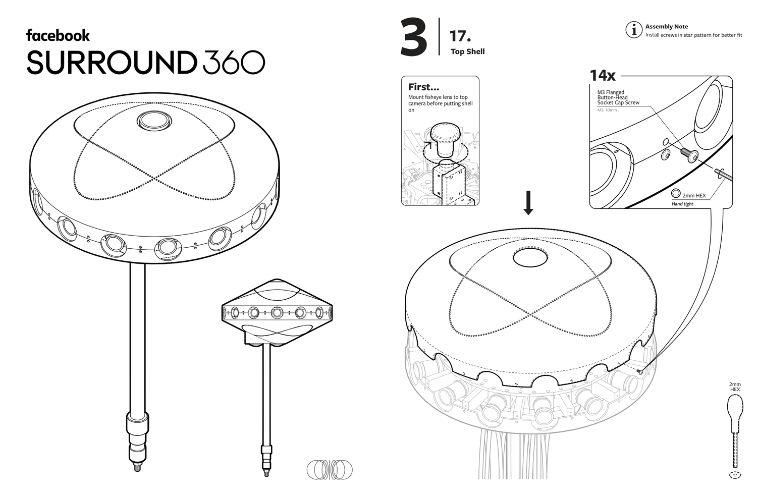 IKEA Fans: How About Building One Of Facebook's Surround 360 Cameras?