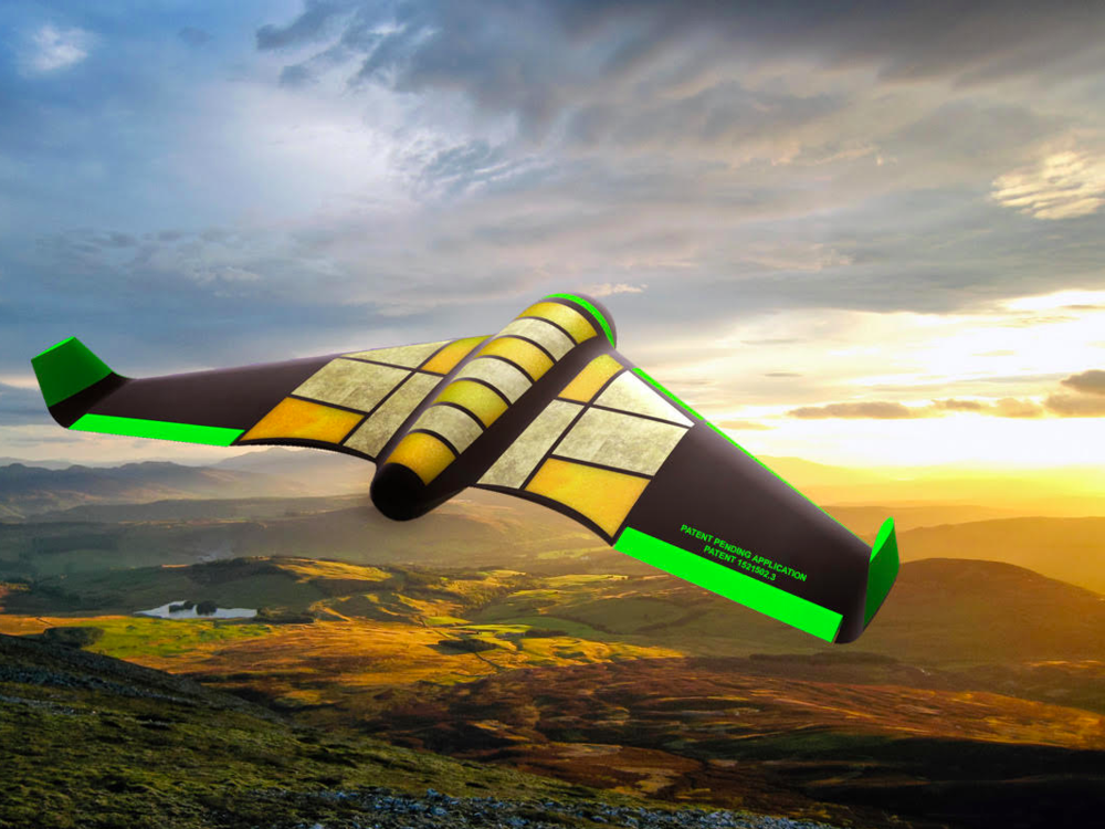 The World's First Edible Drone