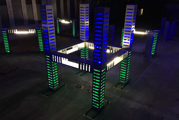 UK's First Drone Racing Arena Opens In Nottingham