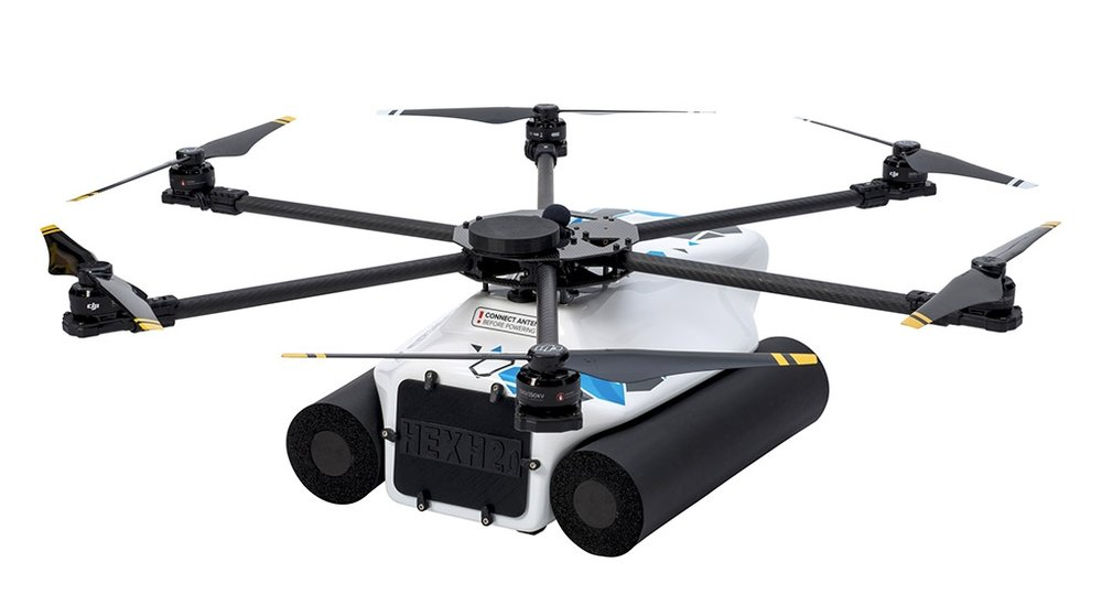 The Drone That Films Underwater