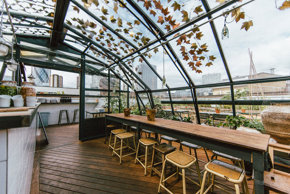 5 Of London's Best: Rooftop Bars